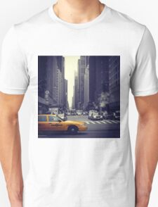 New York Vintage Taxi Cab T-Shirt