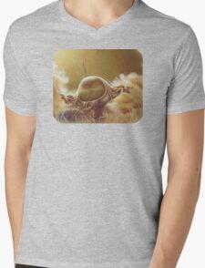 All Tied Up - Surreal Mushroom and Landscape Mens V-Neck T-Shirt