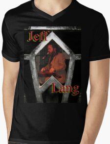 jeff lang Mens V-Neck T-Shirt