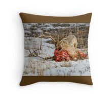 TABLE MANNERS Throw Pillow