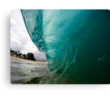 North Shore Wave Canvas Print