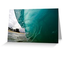 North Shore Wave Greeting Card
