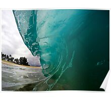 North Shore Wave Poster