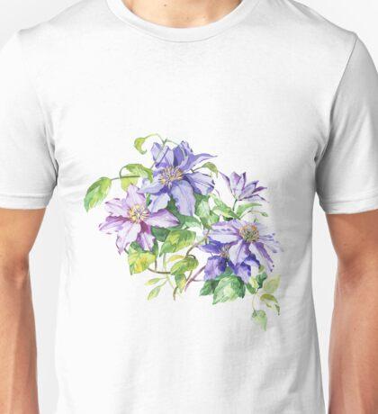 Flowers watercolor illustration Unisex T-Shirt