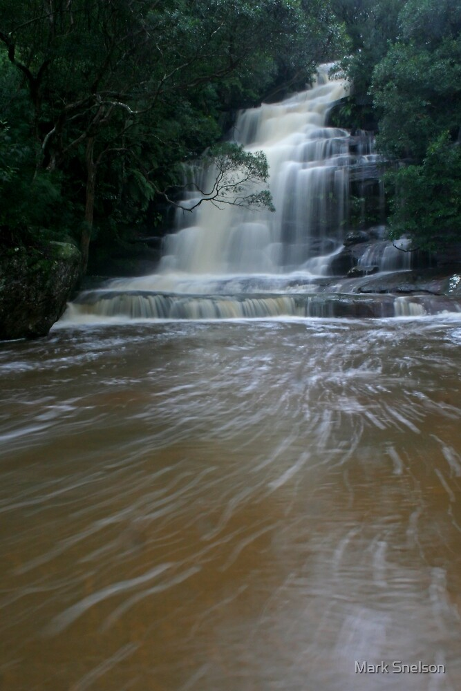 Somersby Falls 4 by Mark Snelson