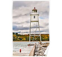 Grand Marais Lighthouse Poster