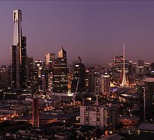 Melbourne Sunset by Sidqie Djunaedi