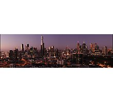 Melbourne Sunset Photographic Print