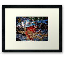 Bondi Mosaic Framed Print