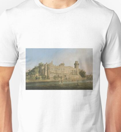 Canaletto - The South Facade Of Warwick Castle Unisex T-Shirt