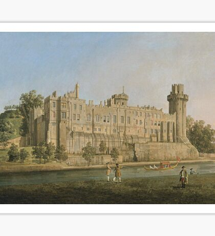 Canaletto - The South Facade Of Warwick Castle Sticker