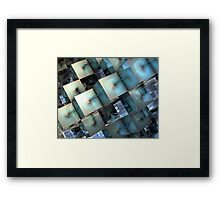 Fragmentary Framed Print