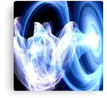The Ethereal Monk stares at the Portal Canvas Print