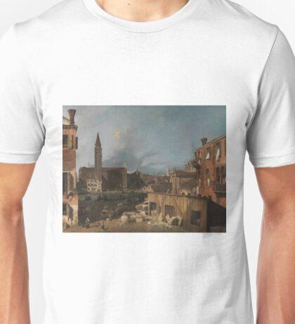 Canaletto - The Stonemasons Yard Unisex T-Shirt