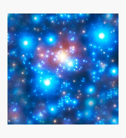 Cosmic Connection, Galaxy, Space, Nebula, Stars, Planet, Universe,  Photographic Print