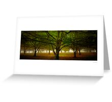 Chestnut Grove Pano Greeting Card