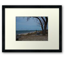 Oceanview... Framed Print