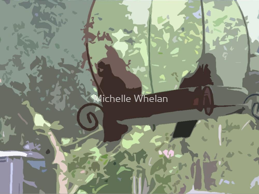 birds in the backyard by Michelle Whelan
