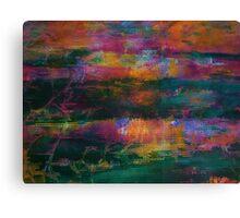 Colour Attack Canvas Print