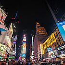 Times Square New York by SteveHphotos