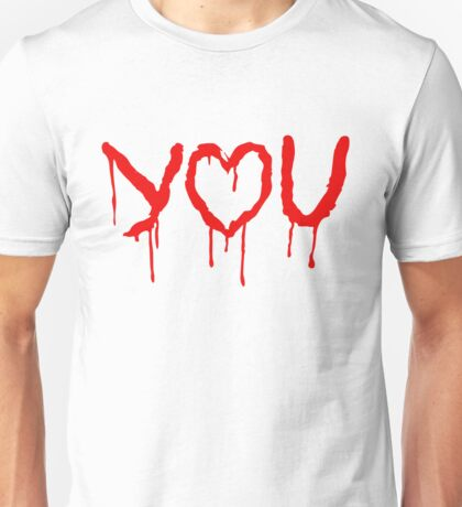 I 'Heart' You - The Abominable Bride Valentine  Unisex T-Shirt