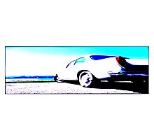 Aircooled Volkswagen Notchback Photographic Print