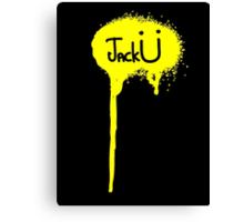 Jack Ü ! Canvas Print