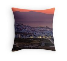 Leaving Town Throw Pillow
