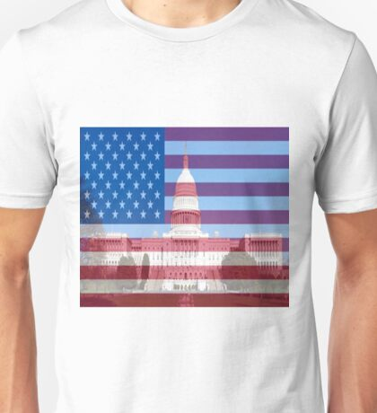 United States Capital Building Unisex T-Shirt