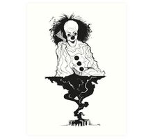 "IT- ""We all float down here..."" Art Print"