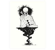 "IT- ""We all float down here..."" Art Print"