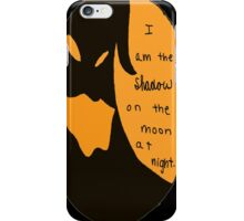 I Am the Shadow iPhone Case/Skin