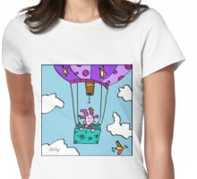 Silly Forgot She Was Scared Of Heights. Alas The Hot Air Balloon Was Not One Of Her Better Ideas. T-Shirt