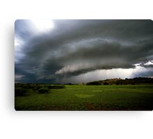 Top-end thunderstorm Canvas Print