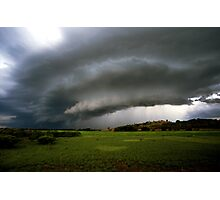 Top-end thunderstorm Photographic Print