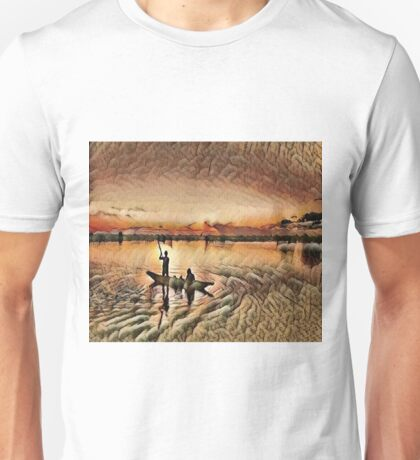 Early Morning Fishing Unisex T-Shirt