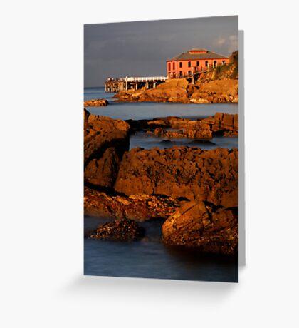 Tathra Wharf Greeting Card