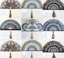 Decorative Fan Collection by christina macaulay