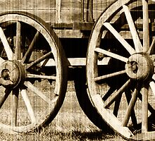 Wagon Wheels by 3rdEyeOpen