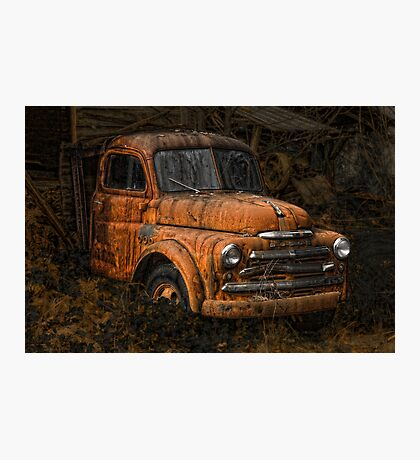 """""""PARKED"""" Photographic Print"""