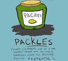 Pickles Packles by juiceboxfarley