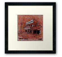 Old building, Ravenswood, North Queensland Framed Print