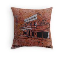 Old building, Ravenswood, North Queensland Throw Pillow