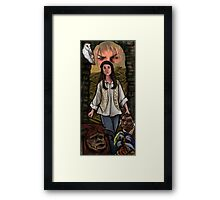 Through Dangers Untold... Framed Print