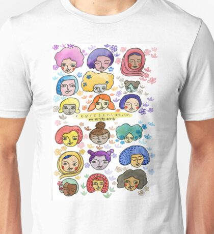 Representation Matters Unisex T-Shirt