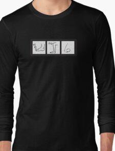 toe-knee-nose Long Sleeve T-Shirt