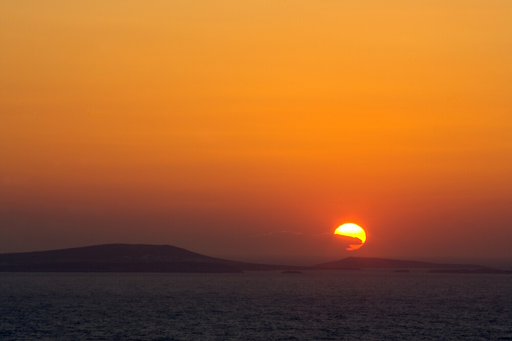 Sunset on the Med by RedChevy