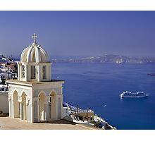 Santorini View Photographic Print