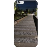 High Line at Night, New York City's Elevated Park and Garden iPhone Case/Skin