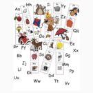 Alphabet Tee by Jienn Heibloem
